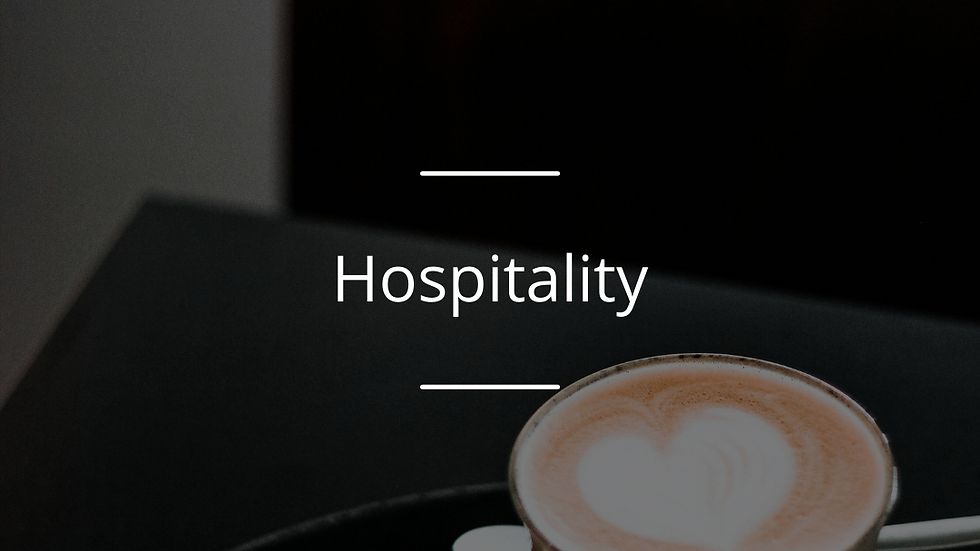Outstanding Service : Hotels, Restaurants, Cafes, Pubs  & Takeaway