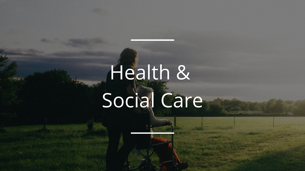Heroes of Health & Social Care