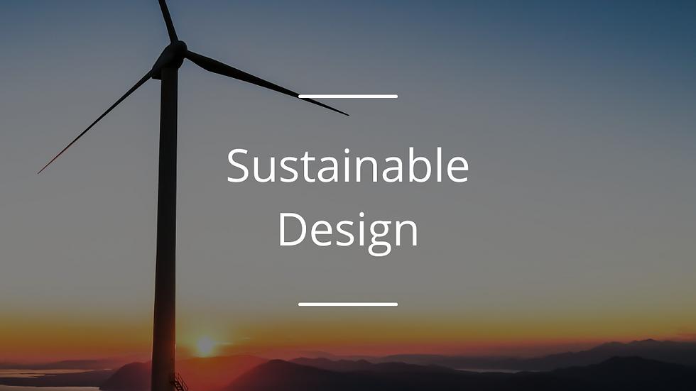 Sustainable Design Award
