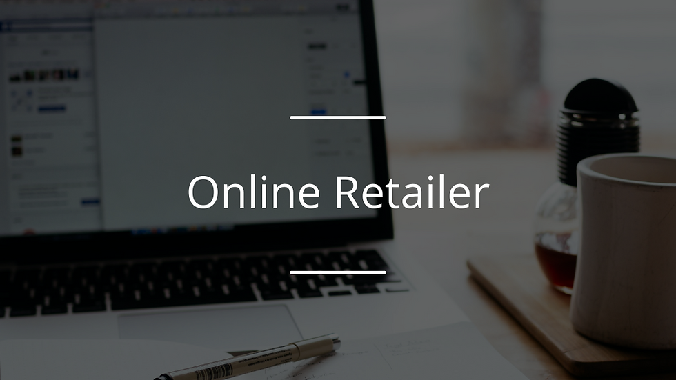 Global Reach Award : Online Retailer Award