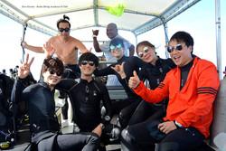 팔라우에서 이문세님과 함께 다이빙 제로그래비티