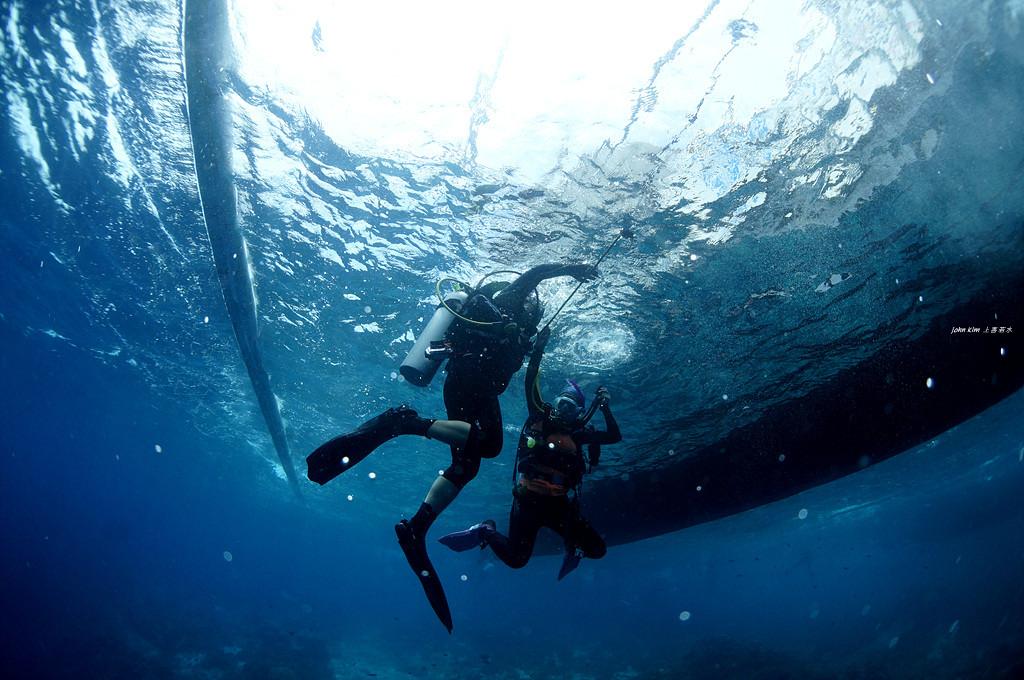 난파선 다이빙