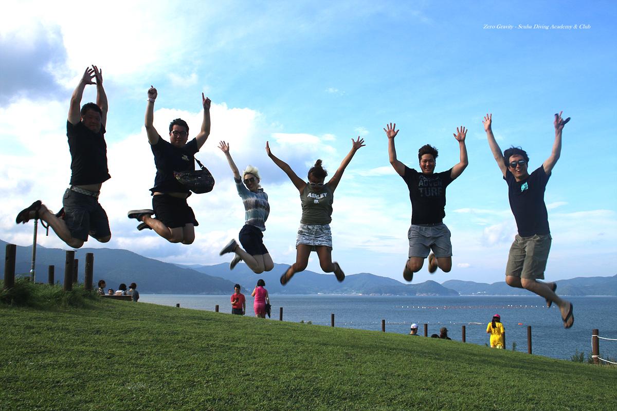 남해 홍도여행 거제도 바람의언덕에서 제로그래비티
