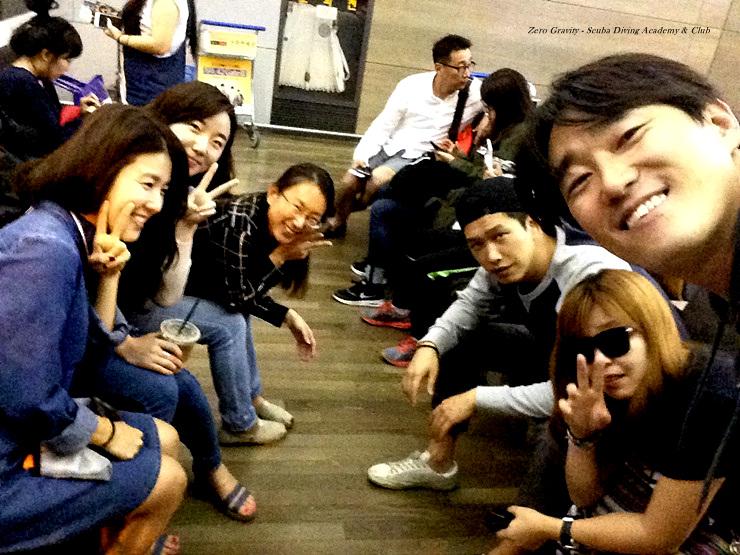 팔라우 가는길 인천공항에서 제로그래비티