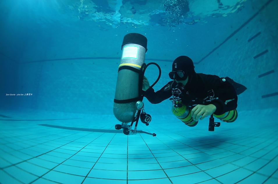수영장 자유연습