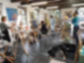 Schildercursus Vaassen; Schilderen met acrulverf; Schilderworkshop; Schilderen bij kunstenaar; Atelier de Oude Smederij; Vaassen; Cursus kleuren mengen; Online cursus schilderen; online schildercursus