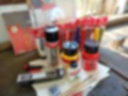 Cursus schilderen. Schilderbenodigdheden. Acrylverf Royal Talens. Schilderdoeken. Katoenen doeken. Penselen Rembrandt. Paletmes. Figueras Canson acrylverf papier. Online schildercursus. Schilderen met acrylverf. Kwaliteitsverf. Hoe leer ik schilderen met acryl.