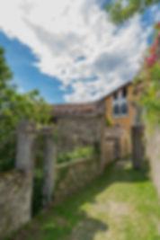 Schildervakantie Italië, schilderen met acryl. Kunstschilder Caroline van de Vate. Lago di Como Noord Italië