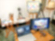 Online schilderlessen; online leren schilderen; online schildercursu; online schilderworkshop; cursus kleuren mengen; kleurenleer van Itten; kleurencirkel