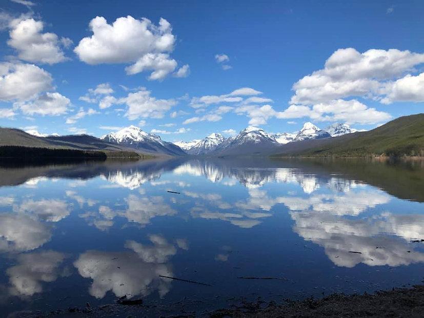 Lake McDonald from Apgar Village by Tamm
