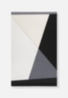 Tobias Maring, Untitled, 2018, Cotton on MDF, 98 × 60 cm