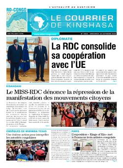 REVUE DE PRESSE AFRICAINE ET INTER EDITION DU VENDREDI 02 10 2020.
