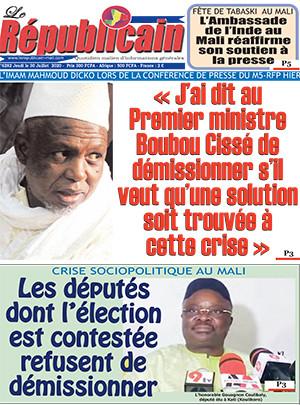 REVUE DE PRESSE AFRICAINE ET INTER EDITION DU VENDREDI 31 07 2020.