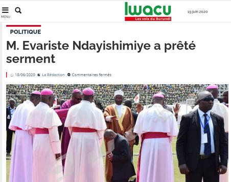 REVUE DE PRESSE AFRICAINE ET INTER EDITION DU VENDREDI 19 06 2020.