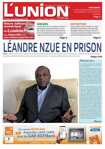 REVUE DE PRESSE AFRICAINE ET INTER EDITION DU MERCREDI 16 09 2020.