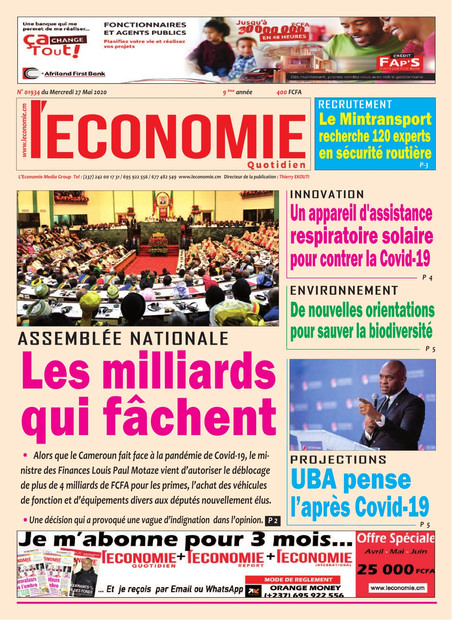 REVUE DE PRESSE AFRICAINE ET INTER EDITION DU MERCREDI 27 05 2020.