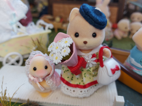 My favourite Sylvanians - shhhh... don't tell them I have favourites!