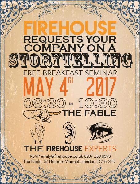 Firehouse Storytelling