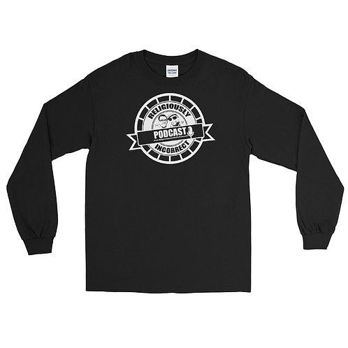 Religiously Incorrect Podcast Branded Long Sleeve Shirt