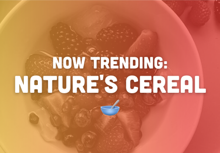 Now Trending: Nature's Cereal