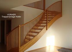 Treppe - vorher