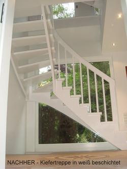 Treppe - nachher