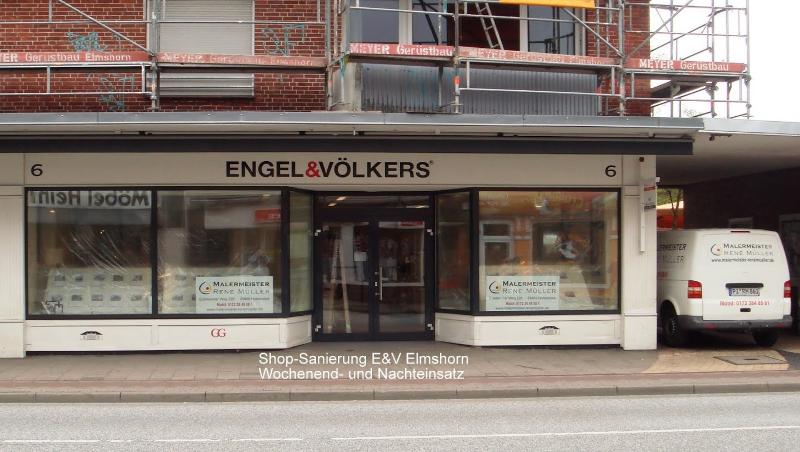 Shop-Renovierung