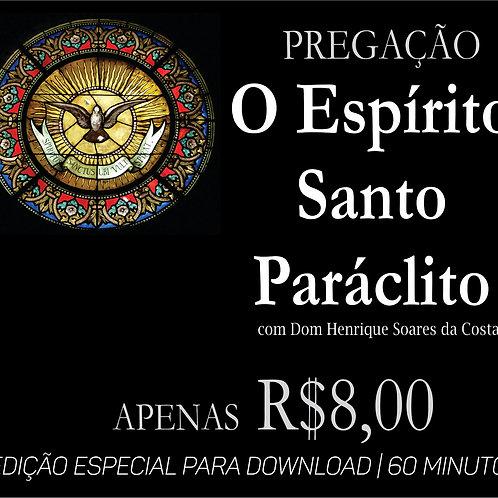 PREGAÇÃO O ESPÍRITO SANTO PARÁCLITO