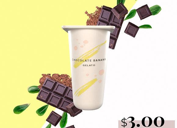 Chocolate Banana Gelato
