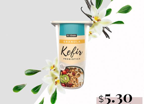 Frozen Yogurt w Granola (Enriched w Kefir Probiotics)
