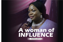 Pastor Gladys Iyi - A woman of Inlfuence 1