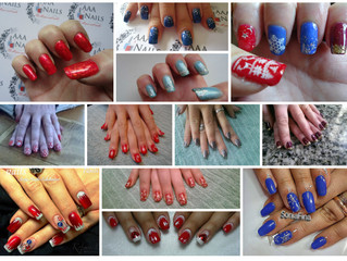 It'll soon be Christmas, don't forget to get your nails done x (these are not all my work bu