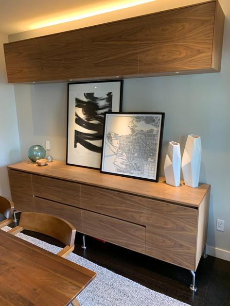 Sideboard & Upper Cabinet