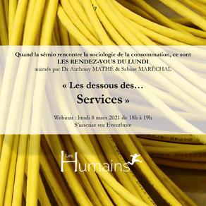 """RDV sémio """"les Dessous des Services"""""""