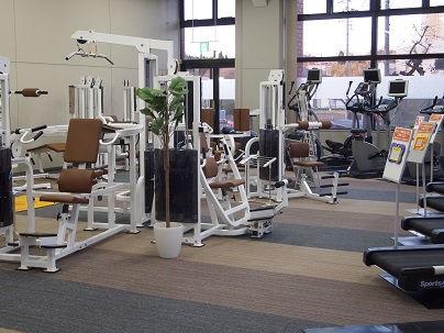 笠原体育館トレーニング室