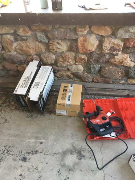 Equipment for Installing a Soil Vapor Well