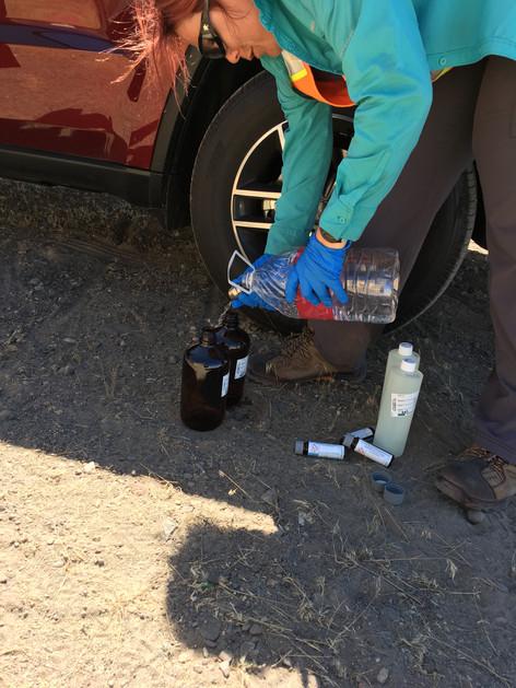 Cleaning Soil Sampling Equipment