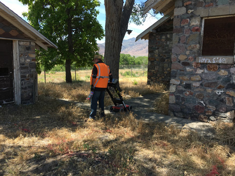 Conducting a Geophysical Survey at the Rock Building