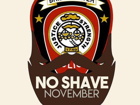 November 1, 2019 - No Save November