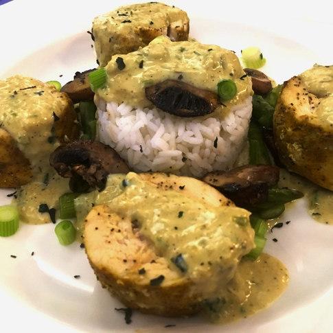 Basil Curry Chicken