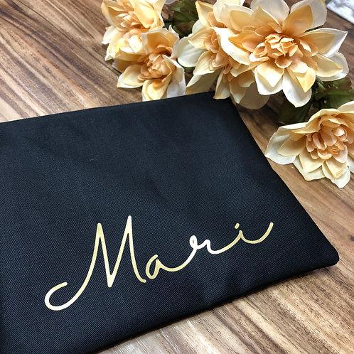 Custom Name Cosmetic Bag