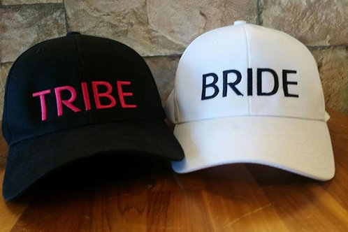 Bride / Tribe Personalized Baseball Cap / Hat