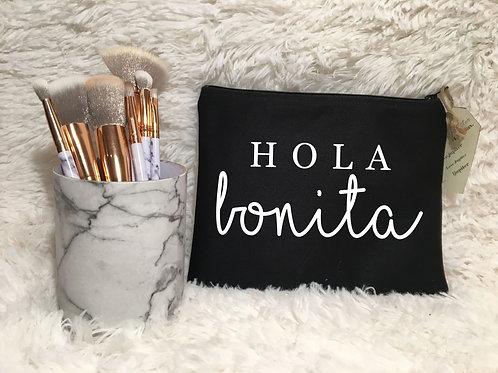 Hola Bonita Standing Cosmetic Bag