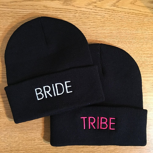 Bride / Tribe Personalized Beanie / Toque