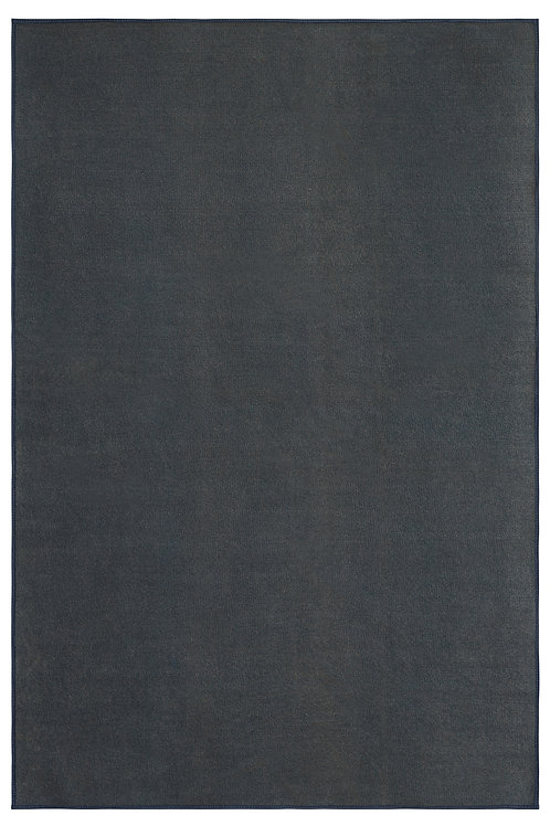 Smooth and Soft Outdoor Petrol Blue Area Rugs with a Low Pile Height for Patio