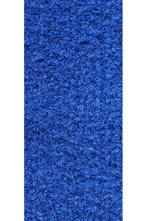 27 Ground Commercial Custom Size Runner with Rubber Marine Backing Rug Blue