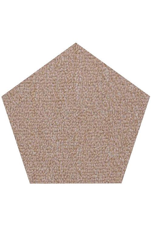 27 Ground Indoor Outdoor Commercial Pentagon Shape Area Rugs Beige