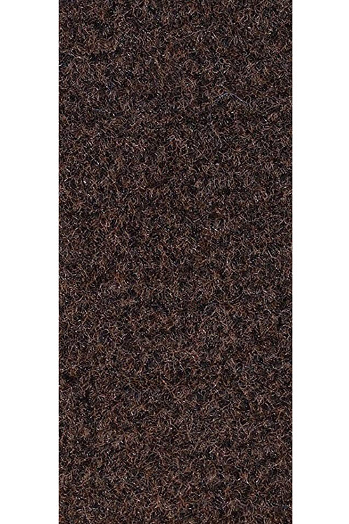 27 Ground Commercial Custom Size Runner with Rubber Marine Backing Rug Chocolate