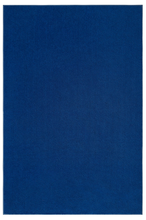 Indoor/Outdoor Marine Blue Area Rugs with Premium Non Skid Backing
