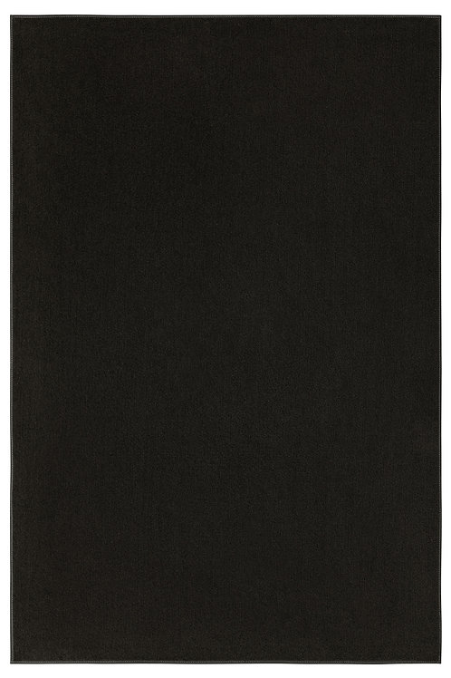 Indoor/Outdoor Marine Black Area Rugs with Premium Non Skid Backing